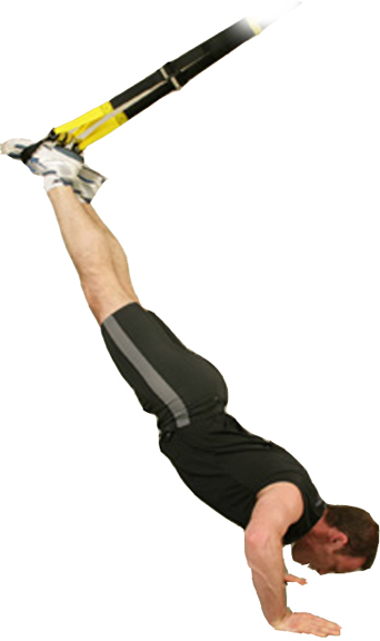 trx suspension training man