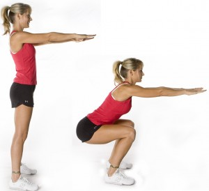 how to do squats